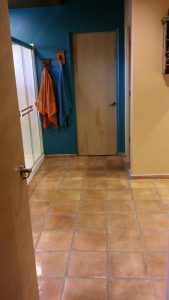 before flooring removal